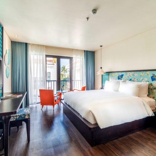 Phòng deluxe Khách sạn DE An