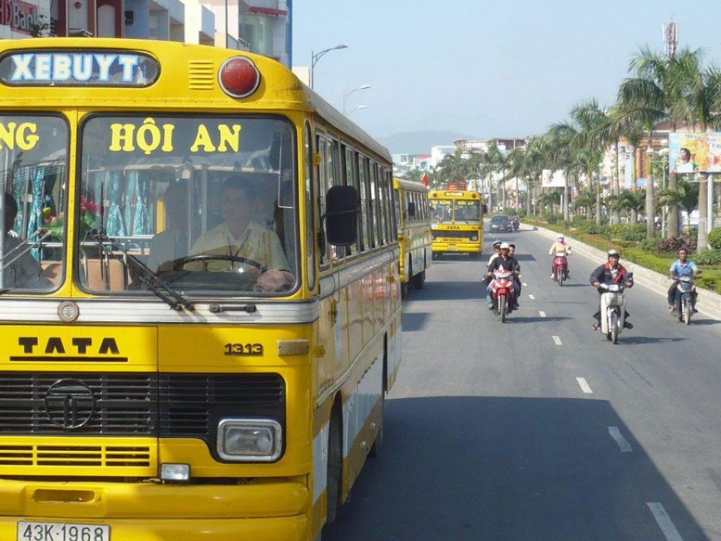 xe bus đã nẵng đi Hội An