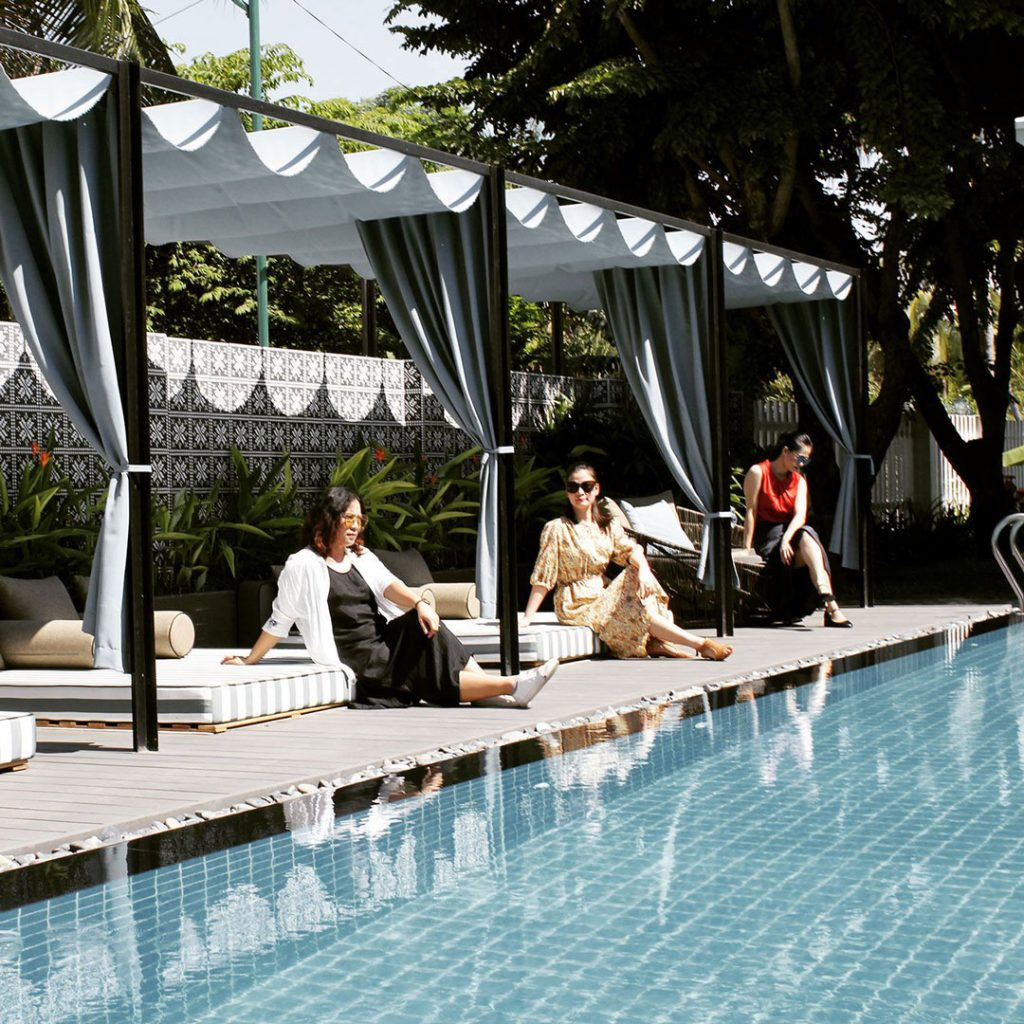 hotel with swimming pools in hoi an