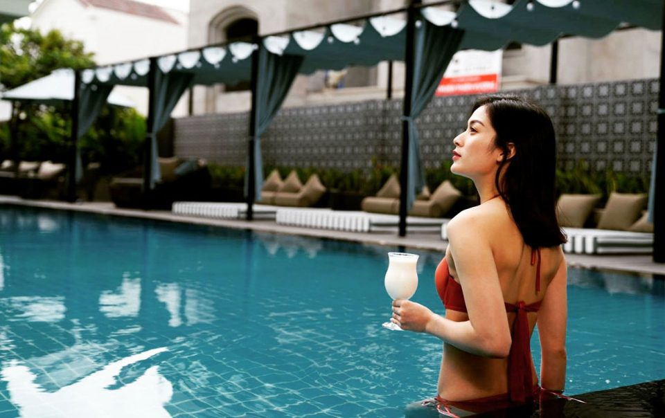 hotel with pools in hoi an